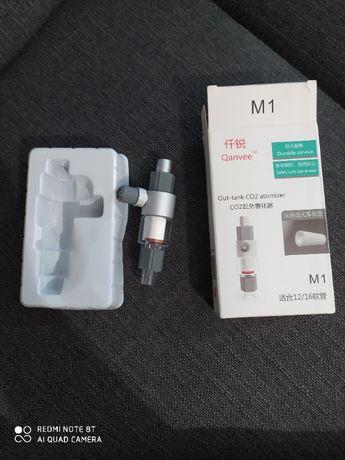 QANVEE M1 Dyfuzor CO2 zewnętrzny przepływowy na wąż 12/16 mm