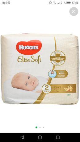 Продам памперсы Huggies elite soft 1 и 2
