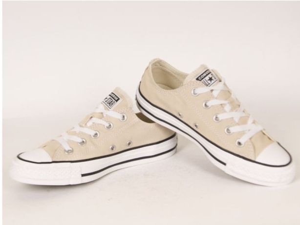 Converse all star chuck taylor, nowe, beżowe