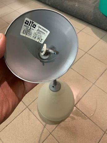 Подвесной светильник Alfa с плафоном в виде усеченного конуса