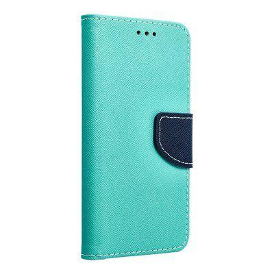 Capa Livro Horizontal Lmobile Galaxy J3 2017 - Azul / Verde Menta