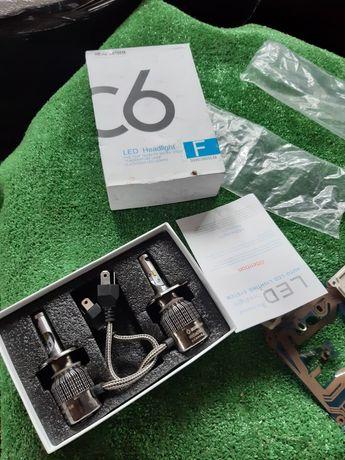 Лед лампи H4 led лампочки H4