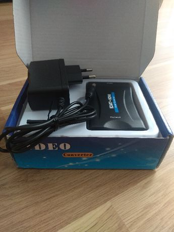 Konwerter przejściówka SCART Euro na HDMI Adapter