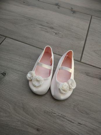 Biale baletki buty h&m 22