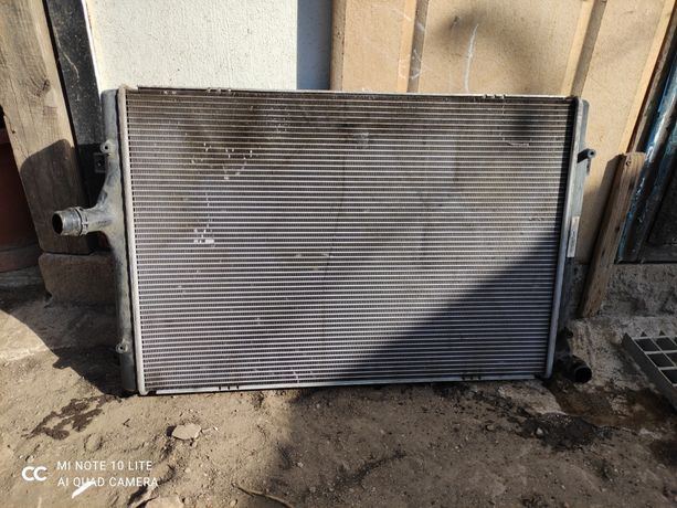 Радиатор Passat b7 2014 европеец