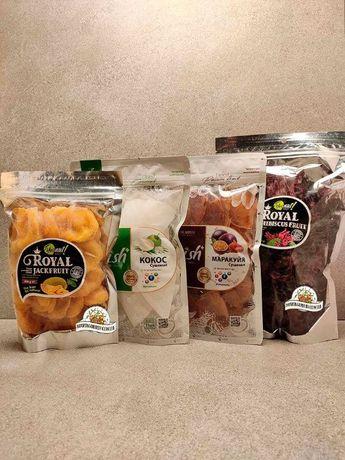 Джек фрукт, маракуйя, гибискус, манго, кокос, гуава, папайя без сахара