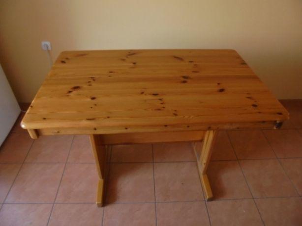 stół sosnowy stabilny