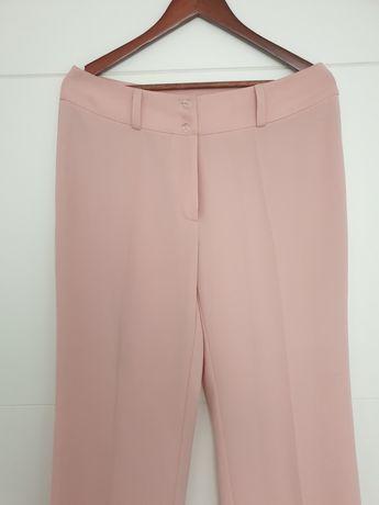 spodnie letnie łosiowo-różowe