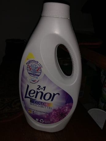 Płyn do prania Lenor chemia niemiecka 1155 ml 21 pran color