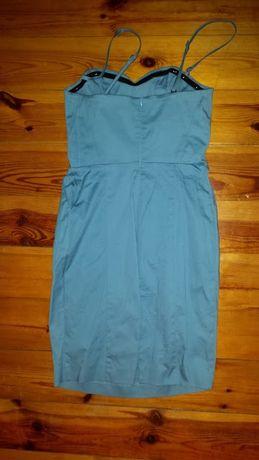 sukienka niebieska tuba pretty girl m