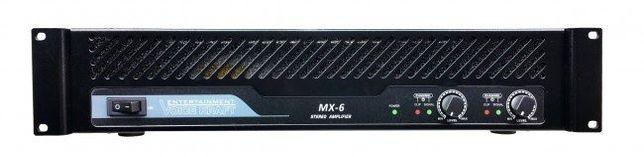 Wzmacniacz Końcówka Mocy 600W STEREO Voice Kraft MX-6
