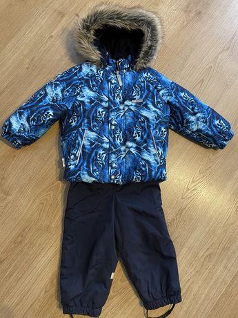 Комбинезон зимний  Lenne 92 см на мальчика