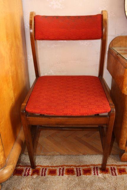 Krzesło stelaż drewno