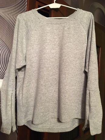 Bluza damska/sweterek szara reserved rozmiar L
