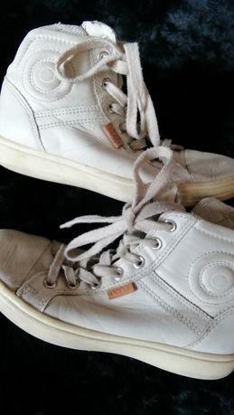 Ботинки ecco, р 33, шкірі, чоботи, принцесса, леди,черевики, сапоги