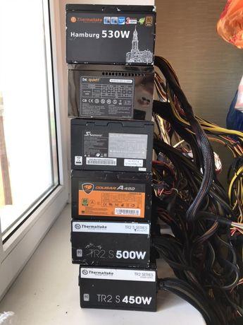 Блоки питания Thermaltake, Be Quiet, FSP, Enermax, Chieftec, LC-Power