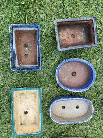 Vasos bonsai cerâmica