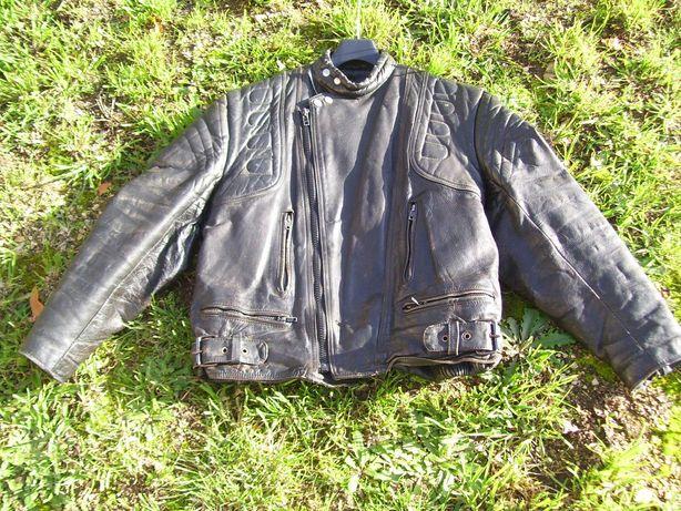 casaco cabedal moto