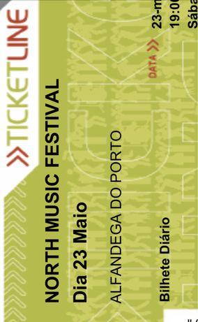 Vendo 3 bilhetes North Music Festival