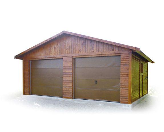 Garaż drewniany dwustanowiskowy Altana Domek !