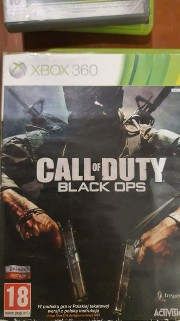 Call of Duty Black Ops PL Xbox360