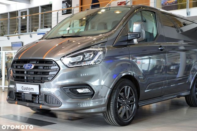 Ford Custom  dostawa 3 msc MCA SPORT 2.0 New EcoBlue 185 KM A6...