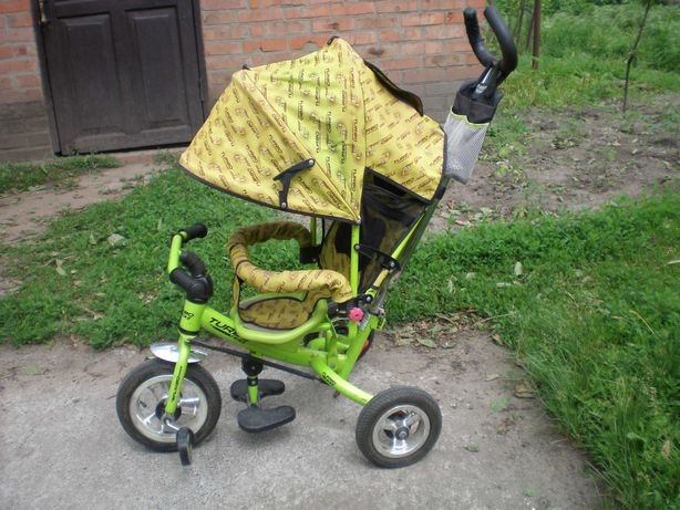 детский-транспорт. прогулочный велосипед-коляска. TURBO-STRIKE.