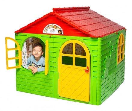 Акция !! New ! Игровой детский домик пластиковый 129×129*120 Doloni