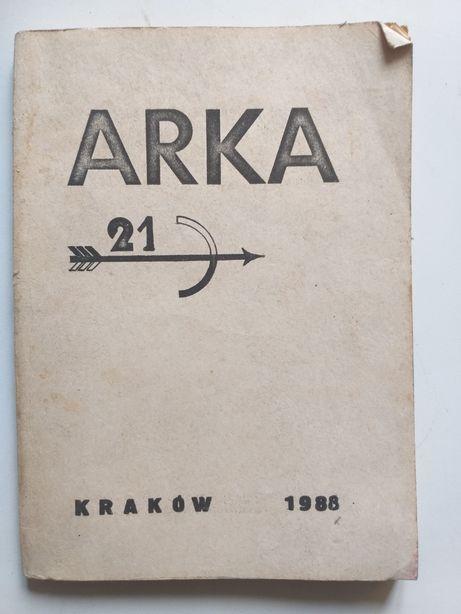 """Czasopismo """"ARKA 21"""" drugi obieg Kraków 1988"""