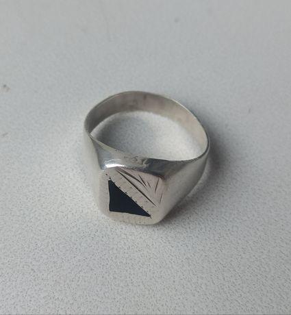 Перстень мужской серебряный 925