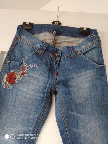 Spodnie damskie jeans