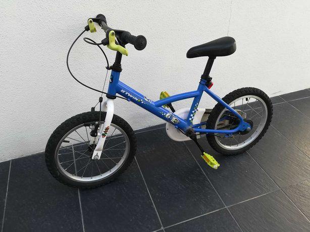 Vendo Bicicleta Decathlon Btwin 4 a 7 anos