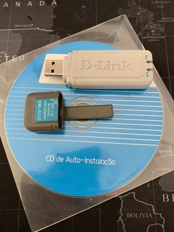 D-Link pen wireless