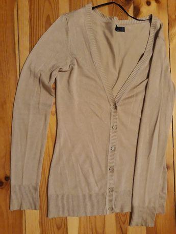 Beżowy zapinany swetr Vero Moda