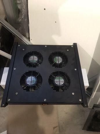 Кулер или Блок вентиляторов для майнинга или серверного шкафа Conteg