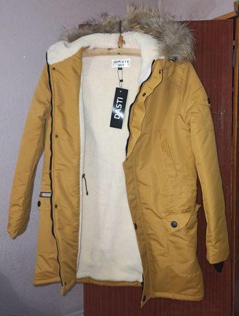 "Зимняя мужская куртка на овчине фирмы ""Dasti""."