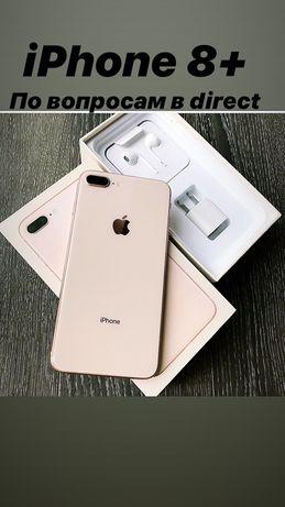 Продам Apple iPhone 8 Plus 64Gb neverlock original rose gold в идеале