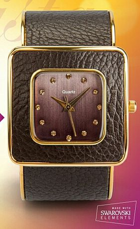 Nowy zegarek Oriflame z kryształkami Swarovski