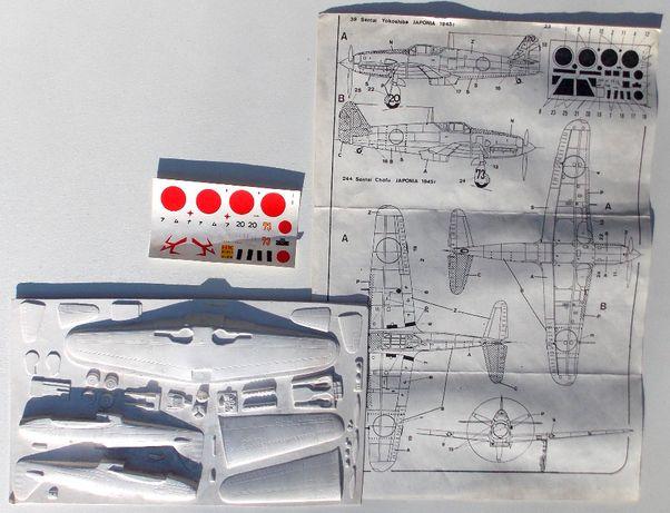 "Kawasaki Ki-61 ""Hien"" vacuform 1/72"
