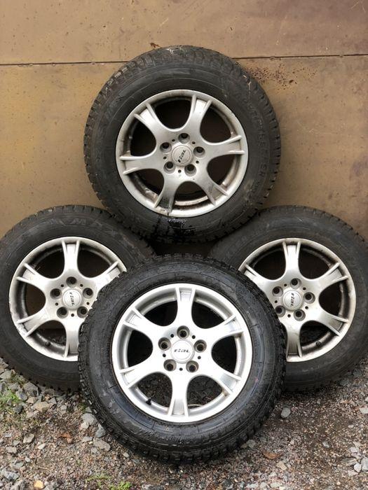 Колеса зимові резина 9мм з дисками 195 55 15 Renault Megane 3. 5x114.3 Львов - изображение 1