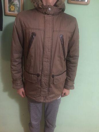 Зимняя куртка парка Okaidi 162см 14лет The north face