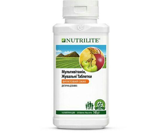 Мультивитамин жевательный амвей нутрилайт nutrilite amway мультивітамі