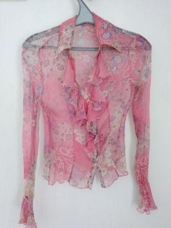 Блузка жіноча напівпрозора