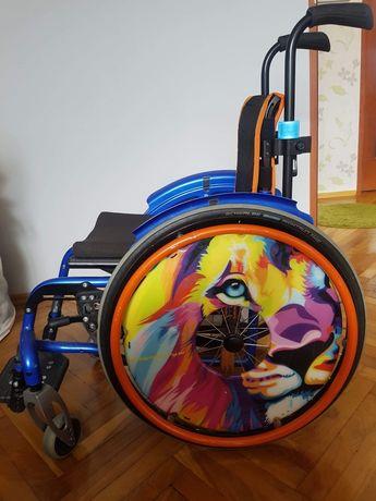 Wózek inwalidzki YOUNGSTER 3 na składanej ramie