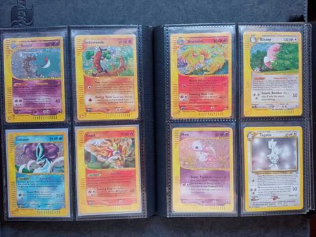 Cartas pokemon antigas