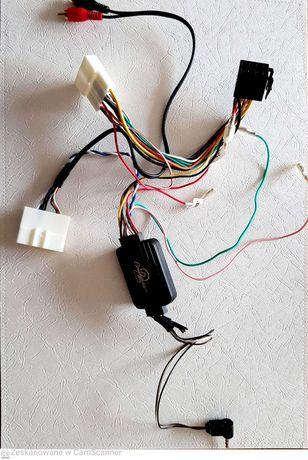 Wiązka kabli wtyczka ISO z CAN BUS do radia 2DIN qashqai j11
