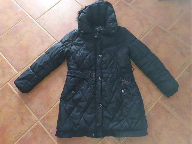 Zimowy,pikowany płaszczyk,kurtka- roz.XL-XXL