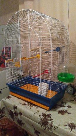 Клетка для попугаев.