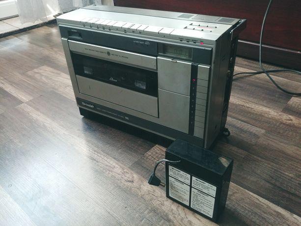 Sharp VC-3300 magnetowid VHS przenośny