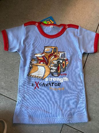 NOWA koszulka firmy TESTA r. 80